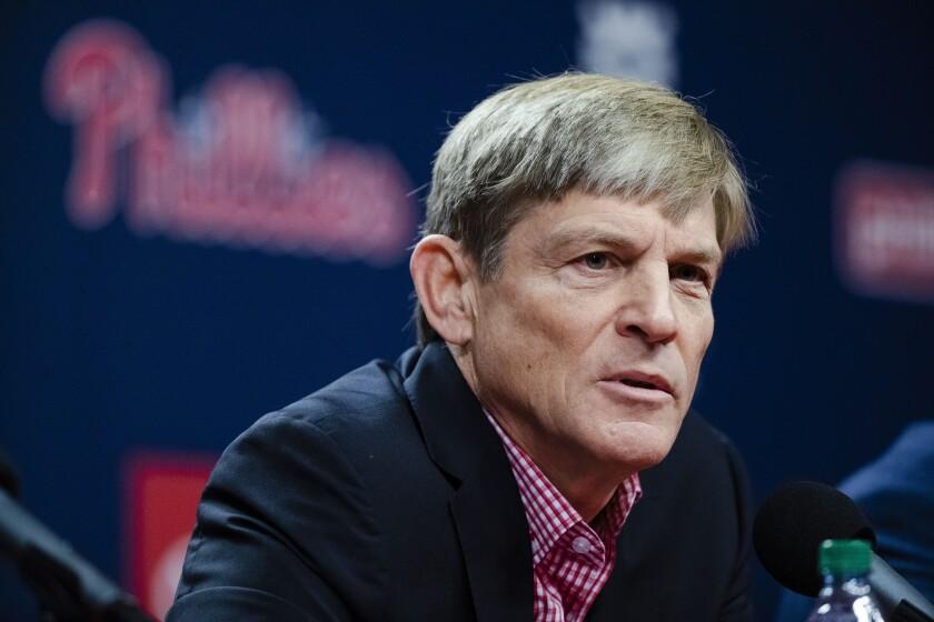 Phillies Kapler Fired Baseball