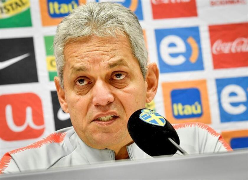 Chile's coach Reinaldo Rueda attends a press conference of the Chilean national soccer team at Friends Arena in Stockholm, Sweden, 23 March 2018. EPA-EFE/FILE/JONAS EKSTROMER SWEDEN OUT