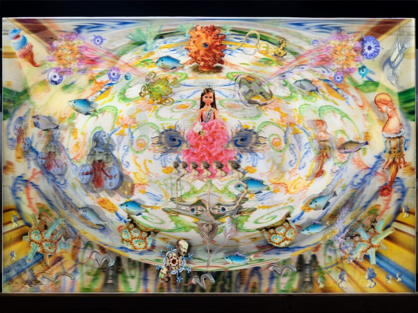 """The """"Miss Mito"""" piece will be shown in the La Jolla Historical Society's """"Trifecta: Art, Science, Patron"""" exhibition."""