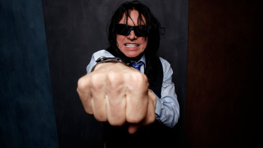 """TORONTO, ON, CA--MONDAY, SEPTEMBER 11, 2017 - Subject Tommy Wiseau from the film, """"The Disaster Arti"""