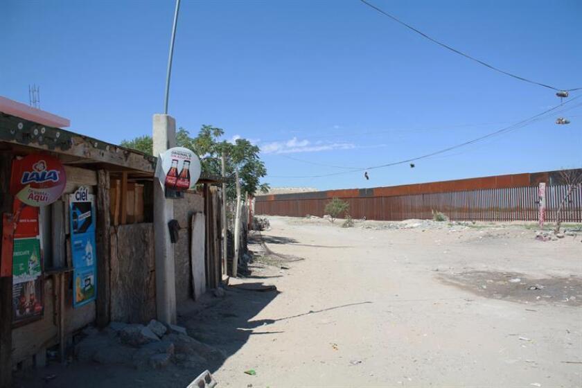 Fotografía del 16 de septiembre de 2018, que muestra una zona de la colonia Anapra, en ciudad Juárez en el estado de Chihuahua (México). EFE