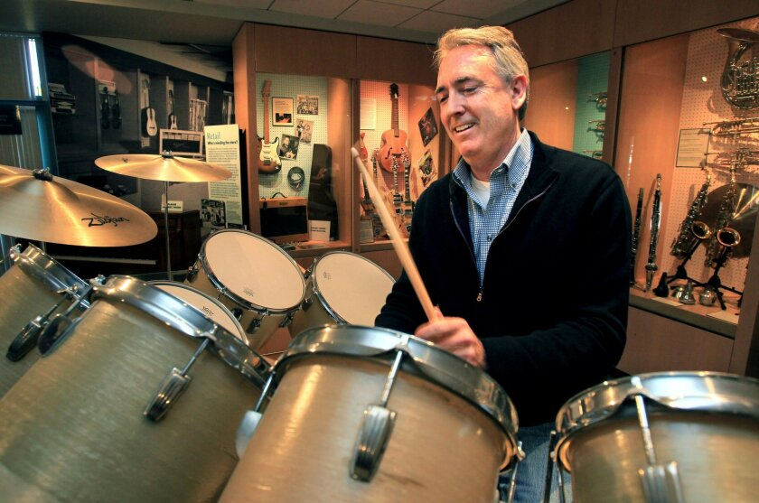 Joe Lamond, the President and CEO of the National Association of Music Merchants in Carlsbad, keeps a snappy beat at the nonprofit NAMM's Museum of Making Music -- and across the ever-growing world of musical instruments and technology.
