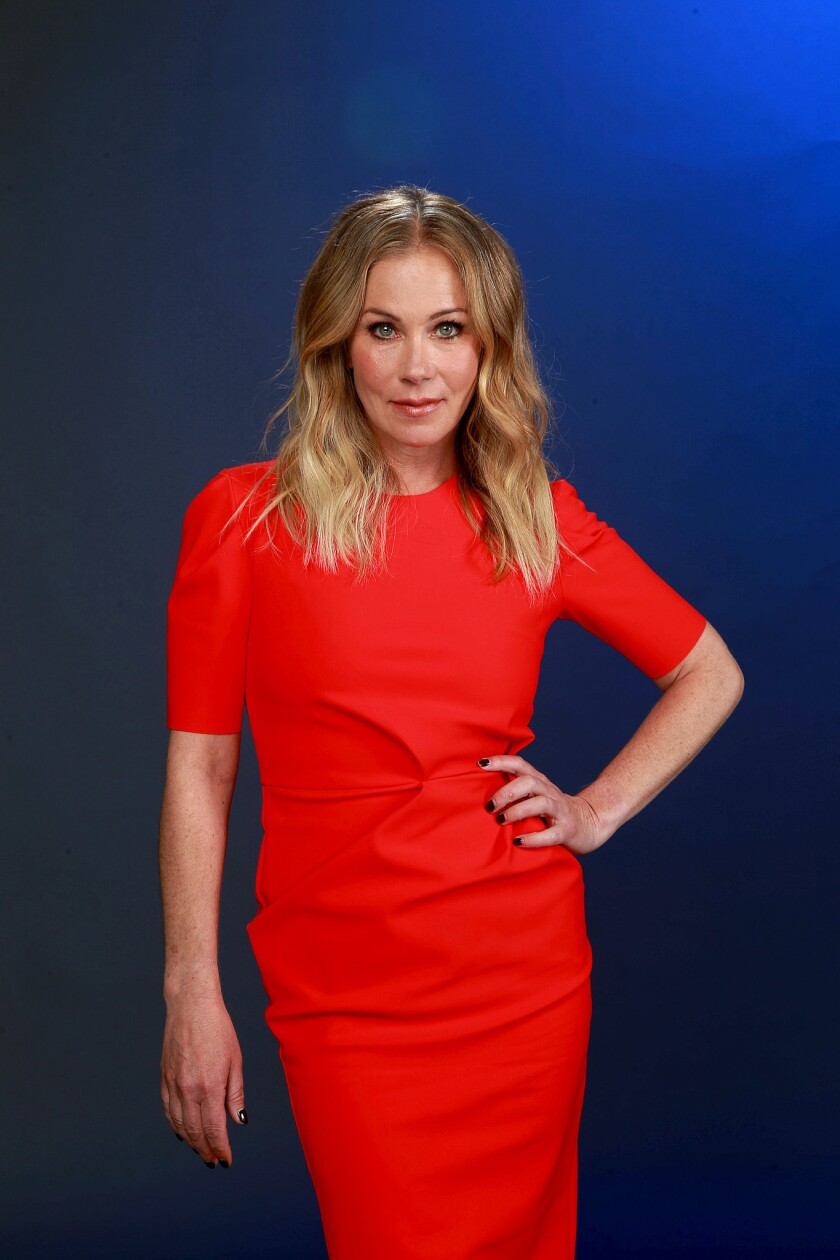 "Christina Applegate plays recent widow Jen Harding in ""Dead to Me."""