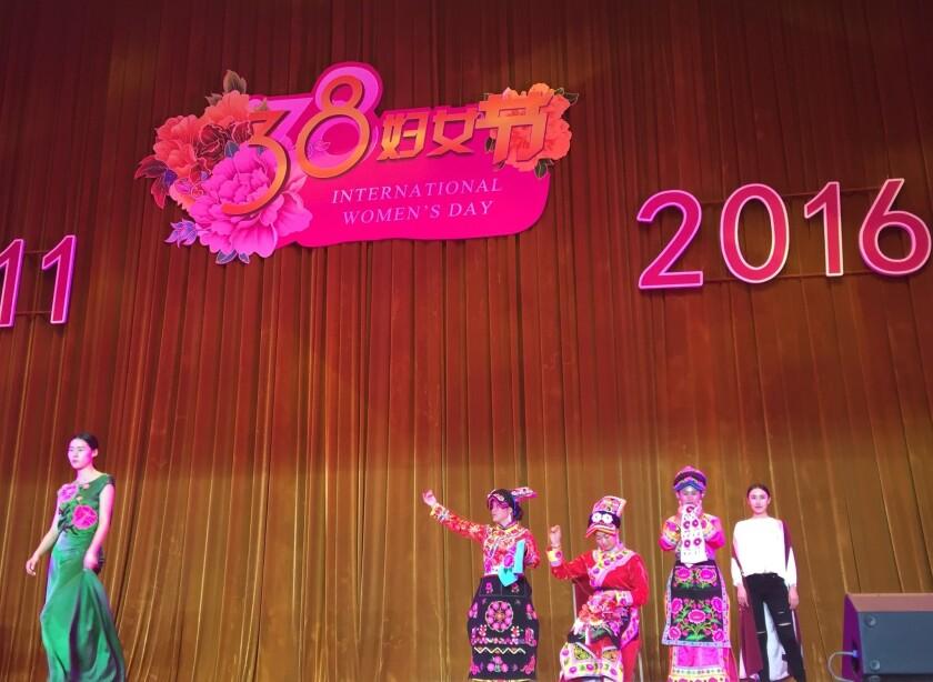 International Women's Day in China