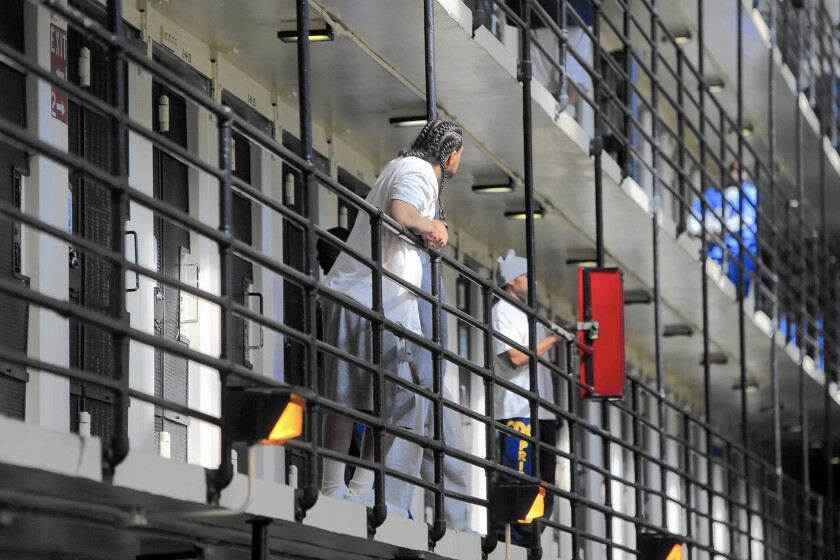 The California Department of Corrections and Rehabilitation says that the visitor ban is a precaution and that there haven't been any confirmed cases in the state prison system.