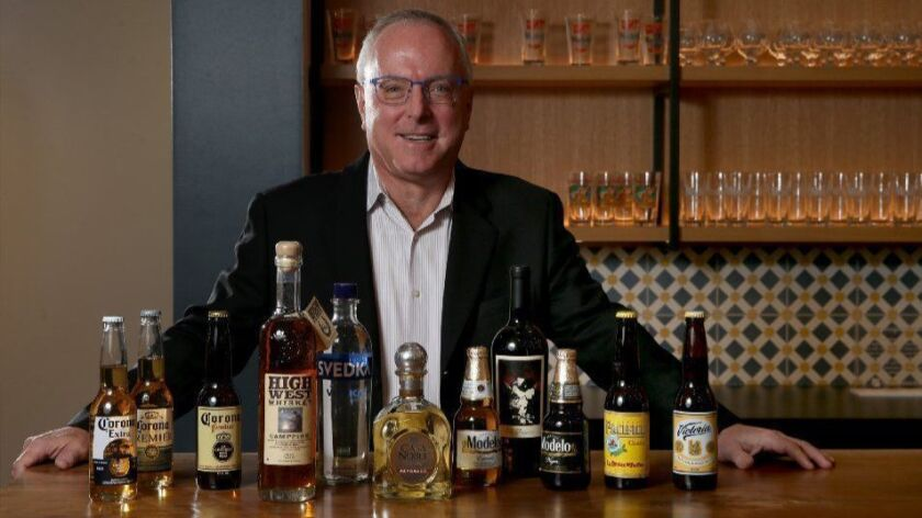 Bill Newlands, new CEO of Constellation Brands, best known for its Chicago-based Mexican import beers, is photographed Nov. 5, 2018.