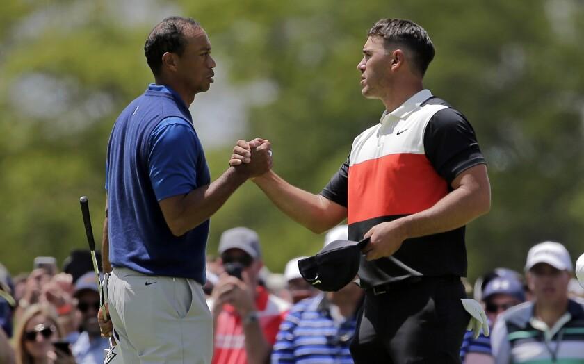 Tiger Woods, Brooks Koepka