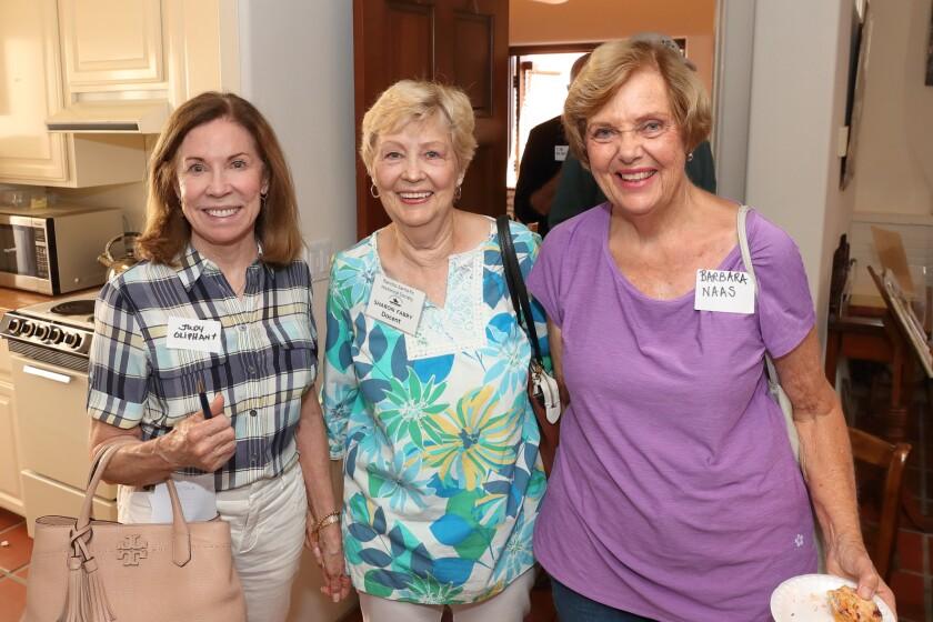 Judy Oliphant, Sharon Fabry, Barbara Naas