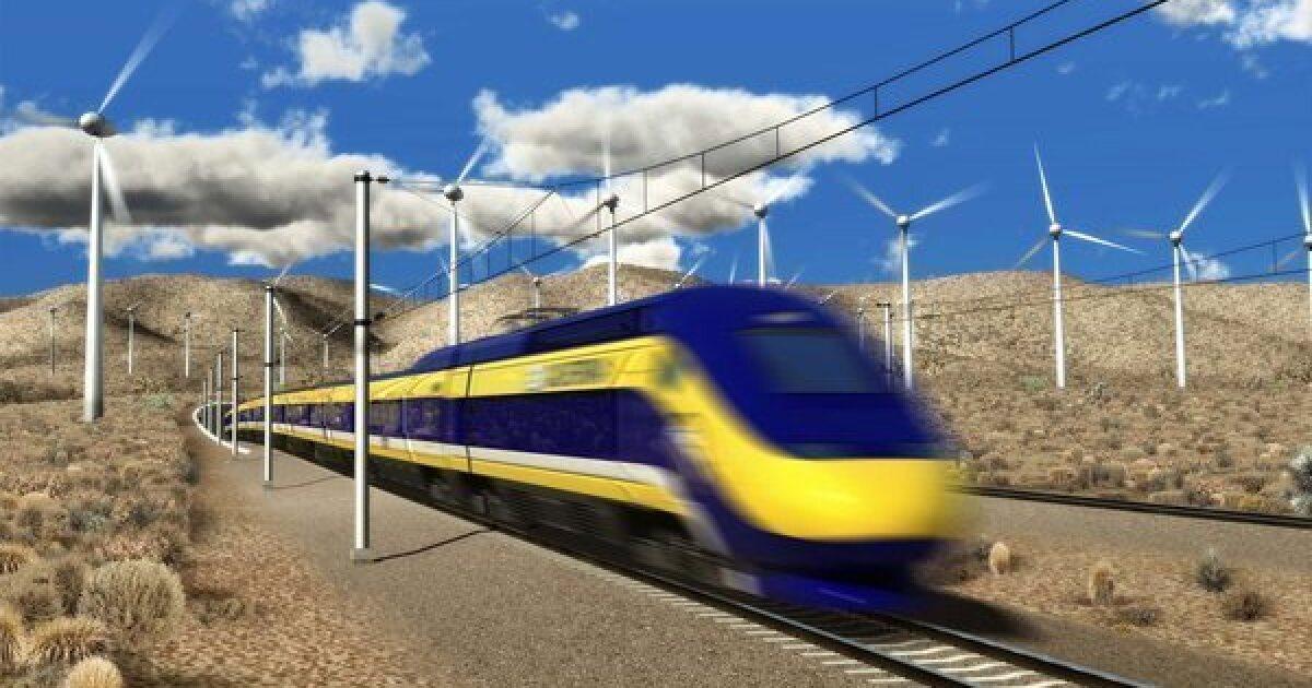Προβληματισμένος Καλιφόρνια τρένο ωθεί μεγαλύτερο συμβόλαιο ποτέ, που αντιμετωπίζει τον πόλεμο με Ατού