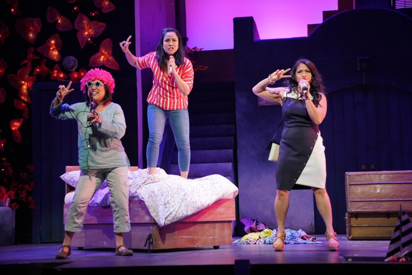 "East West Players' production of ""Mamma Mia!"""