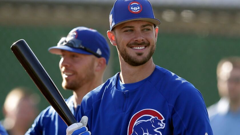 MLB: Chicago Cubs-Workouts