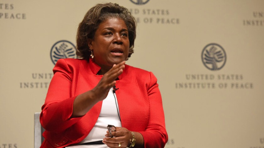 Linda Thomas-Greenfield leads the Biden transition team in rebuilding the State Department.