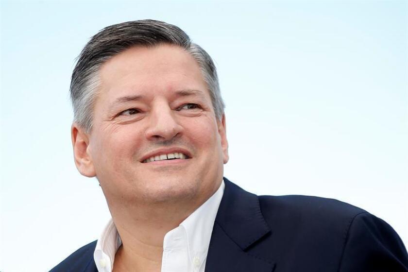 Netflix no exhibirá sus películas en la edición de este año del Festival de Cannes, anunció hoy el jefe de contenidos de la plataforma digital, Ted Sarandos, en una entrevista con el medio especializado Variety. EFE/EPA/ARCHIVO