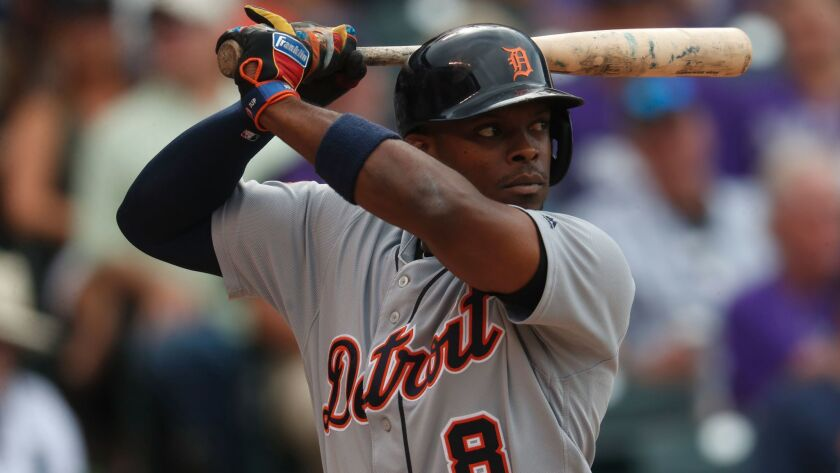Detroit's Justin Upton is hitting .279 with a .904 on-base-plus-slugging percentage, 28 home runs and 94 runs batted in.