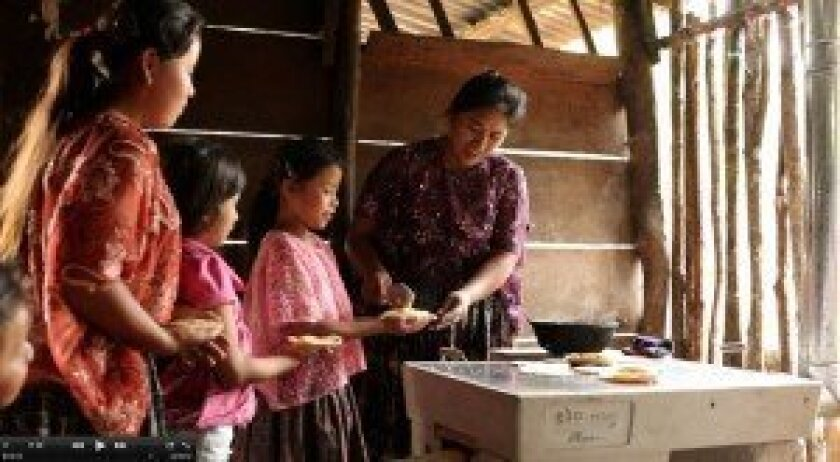 The Maya Relief Foundation provides stoves and water filters to indigenous families in Guatemala.