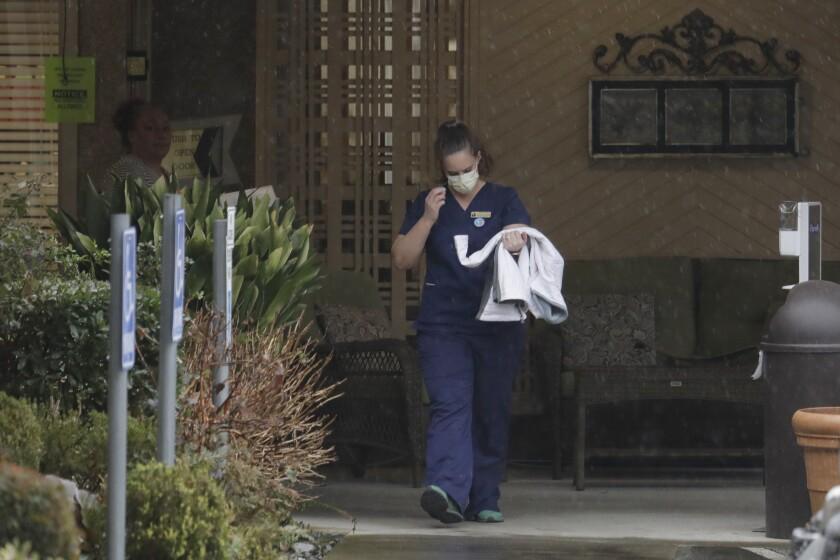 Coronavirus outbreak in Washington state