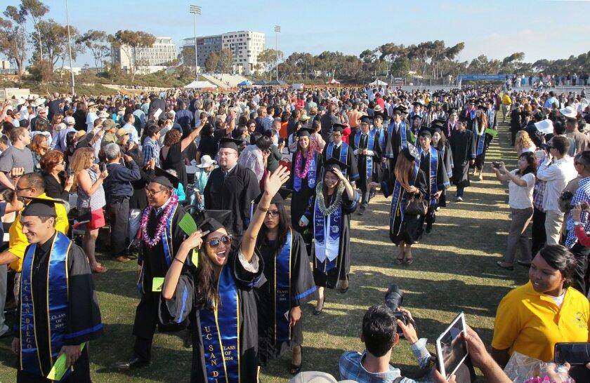 UCSD graduation