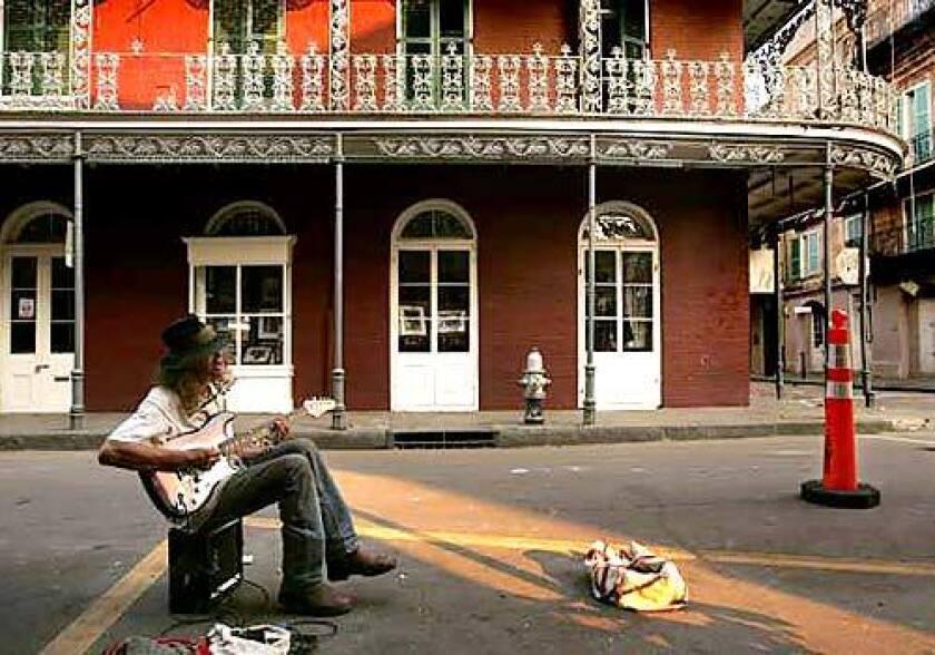 French Quarter blues
