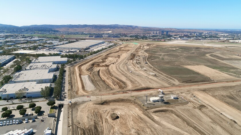 A 2.5-mile stretch of land near the Orange County Great Park in Irvine will be restored to its natu