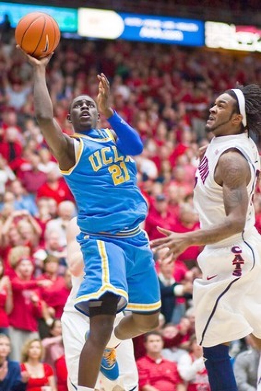 Jrue Holiday played for UCLA for a season before being drafted by the Philadelphia 76ers in 2009.