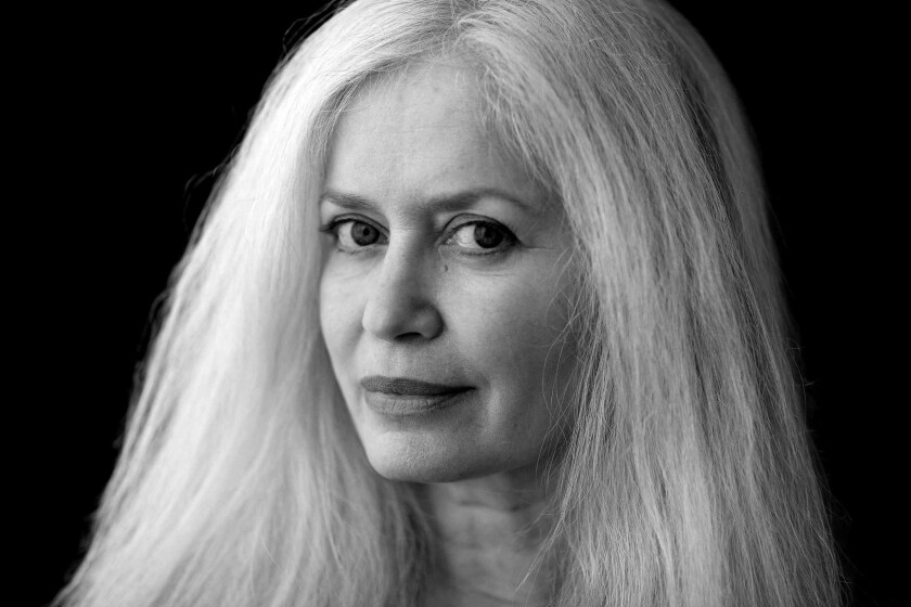 "An author photo of Amy Hempel for her book ""Sing to It."" Credit: Vicki Topaz"