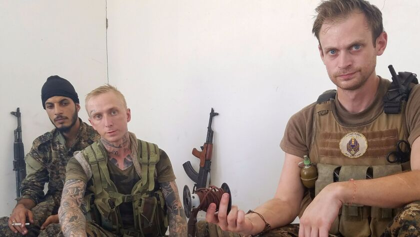 They went to Syria to fight Islamic State  Now two Americans find
