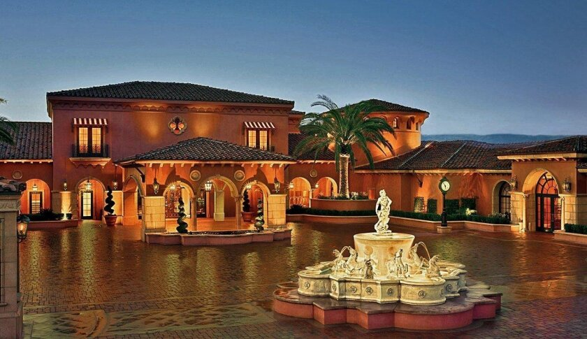 The Fairmont Grand Del Mar, which was sold last year, is not on Forbes Travel Guide's list this year of four- and five-star properties.
