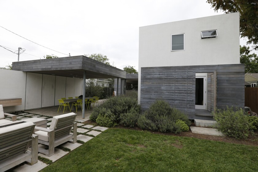 A custom home in Culver City.