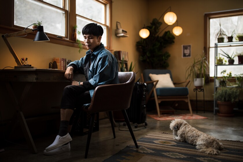 Bestselling Author Ocean Vuong Reflects On Year Of Intense Highs And Lows Los Angeles Times