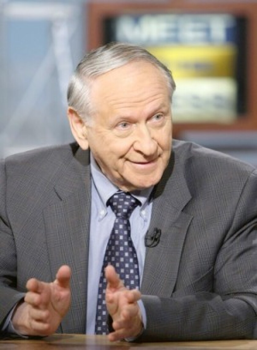 "William Safire wrote a conservative column for the New York Times for three decades and the ""On Language"" column for the newspaper's Sunday magazine."