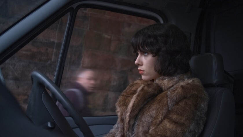 Review: Scarlett Johansson mesmerizes while getting 'Under the Skin'