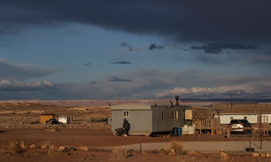 Navajo Nation during the coronavirus outbreak.