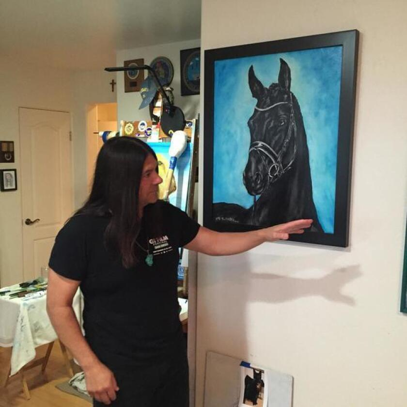 When he paints an aimal, Chato says, he wants to reflect the animal's spirit.