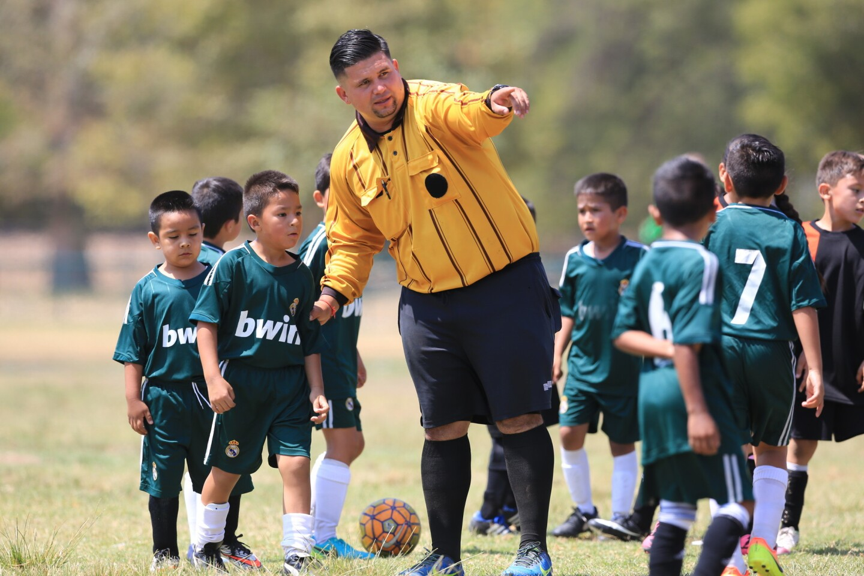 Arbitros del futbol local