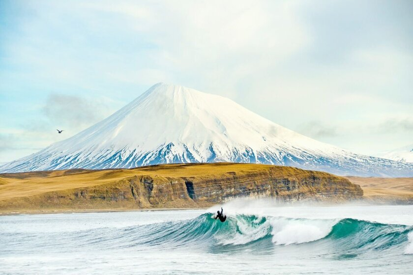 One of the captivating images of self-taught surf and ocean photographer, Chris Burkard, who will offer an in-depth presentation on his work, 4-6 p.m. Saturday, May 23 during the San Diego Surf Film Festival.