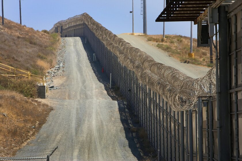 U.S. Immigration and Customs Enforcement in San Diego reported a record increase in the number of local maritime detentions as those attempting to cross tried to avoid tightened security at places such as the San Ysidro Port of Entry. Nelvin C. Cepeda / U-T
