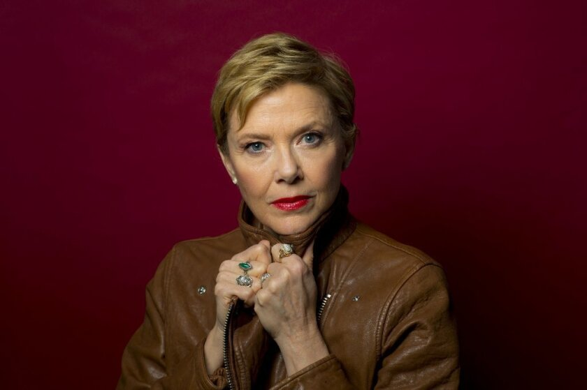 "Annette Bening, contender for ""20th Century Women."""