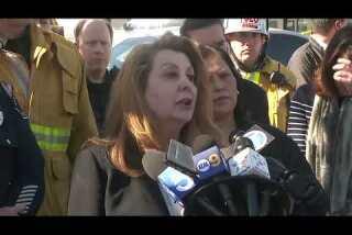 Parents receive information on children. Officials comment on Salvador Castro Middle School shooting