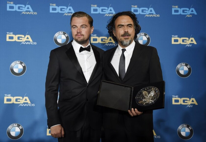 Alejandro G. Inarritu wins his second consecutive DGA award for 'The Revenant'