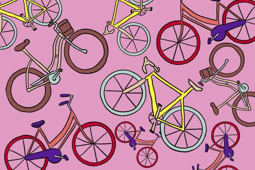 Illustration of a bike