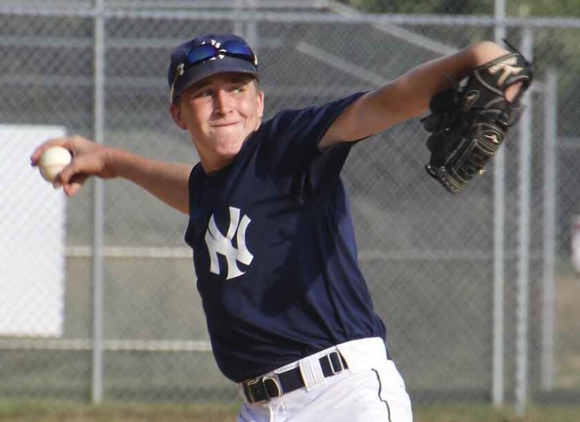 This photo provided by Nancy Crowley shows Jack Crowley. Crowley was 15 when a baseball hit him in the chest and stopped his heart. The Long Island teen survived thanks to a police officer who grabbed a defibrillator and shocked him back to life. A U.S. organization that oversees athletic equipment
