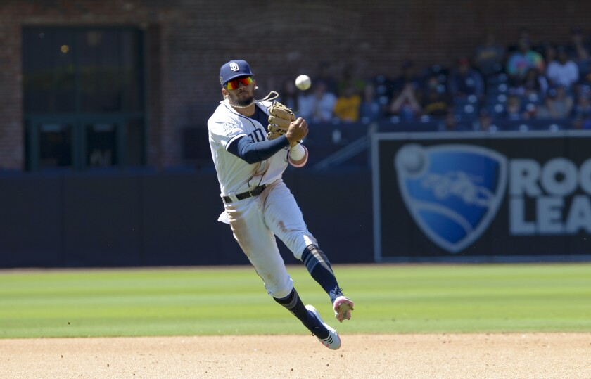 Padres are planning for a couple weeks without shortsotp Fernando Tatis Jr.
