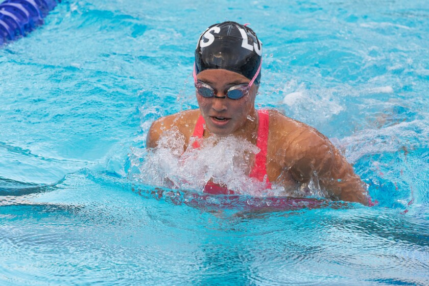 La Jolla High School freshman swimmer Arielle Brotman