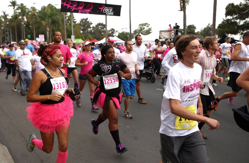 17th annual Komen San Diego Race for the Cure