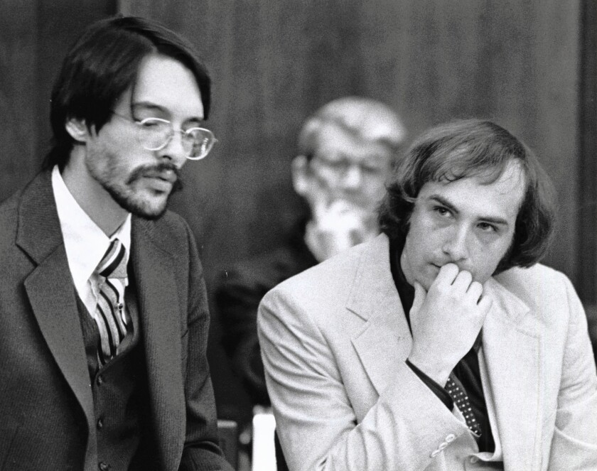 Psychiatrists concluded that Billy Milligan, right, had as many as two dozen personalities.