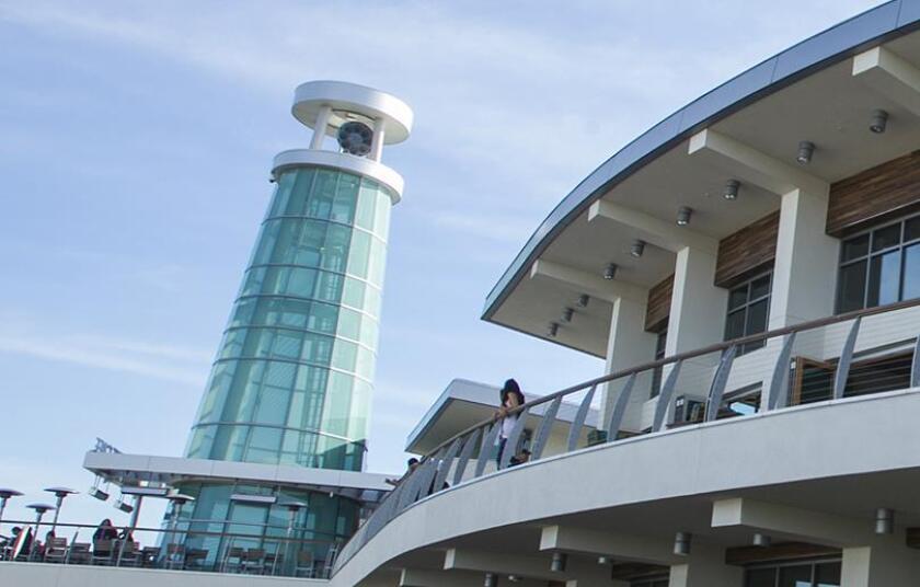 Marina Park lighthouse siren