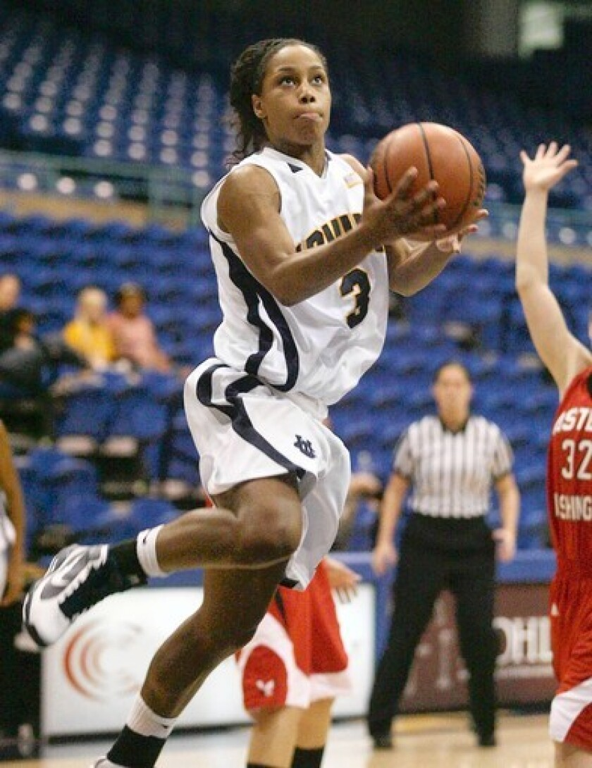 UC Irvine senior Jade Smith-Williams is part of the Anteaters' resurgence this season.