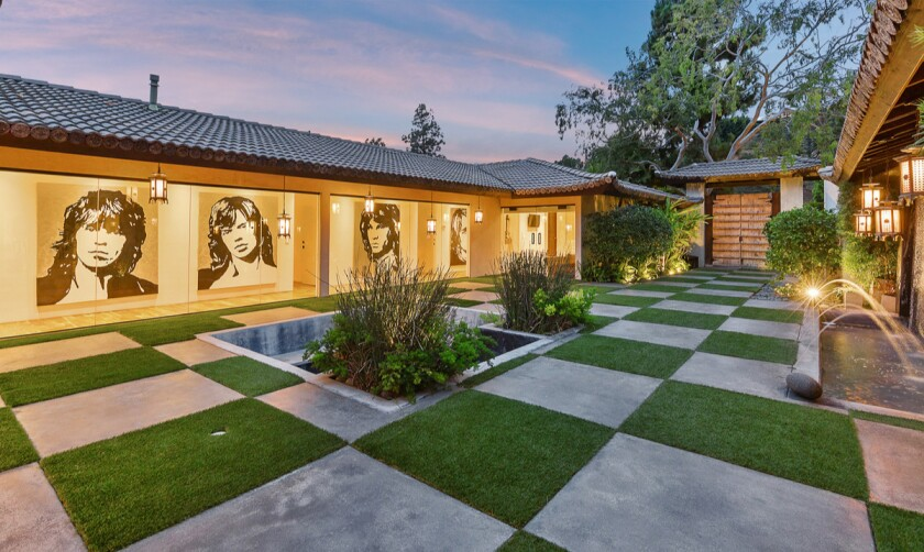 """After major renovations, the former home of """"Star Wars"""" actor Billy Dee Williams is on the market in Beverly Hills for $13 million."""