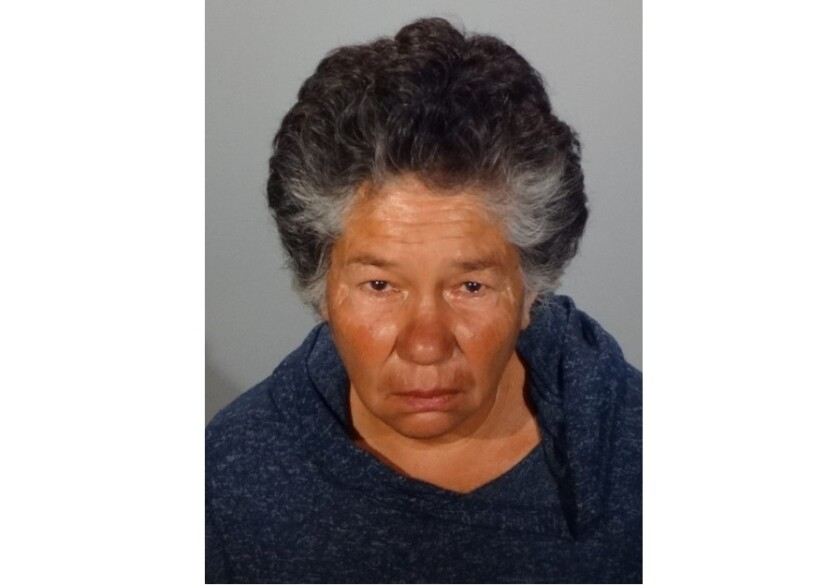 Jackie Rita Williams, a 65-year-old woman from Glendale, is accused of defacing the Korean Comfort Women Peace Monument