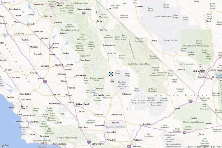 Earthquake: 3.1 quake strikes